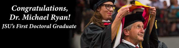 Congratulations to Dr. Michael Ryan!