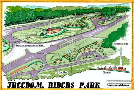 Freedom Park Atlanta Freedom Riders Park